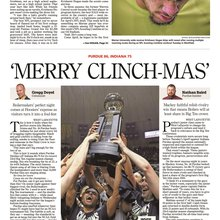 'Merry Clinch-mas': Purdue clinches Big Ten title over Indiana