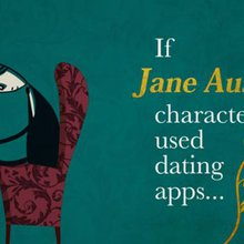 If Jane Austen characters used dating apps