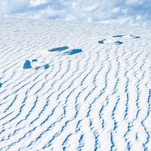 You've got to see this snow-white desert to believe It