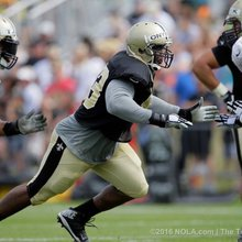 New Orleans Saints DL David Onyemata's raw talent hard to ignore
