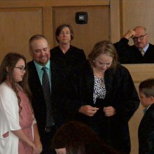 Snyder receives official robe as new district court judge