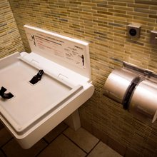 What took so long? Men's rooms in NYC will soon get diaper stations so women don't have to do all...