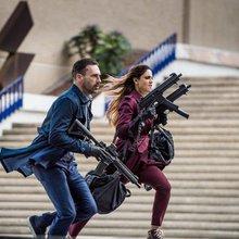 Eiza Gonzalez steals heist thriller 'Baby Driver'