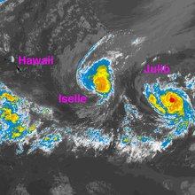 Hawaii Prepares For Unprecedented Back-To-Back Tropical Cyclones