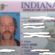 Man's crazy Indiana driver's license pic goes viral