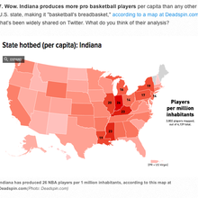 Cheat Sheet: We're No. 1 in basketball players, 'Sam & Cat' done