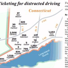Blitzes, hot spots aim to ticket distracted drivers