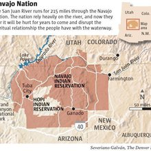 Navajo farmers suffer after Colorado mine fouls southwest rivers