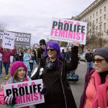 Pro-life feminists excluded from the Women's March say they're the future of the movement