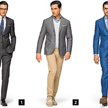 Suitsupply's Natty Summer Suits for Men
