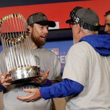 Chicago Cubs outfielder Ben Zobrist named World Series MVP