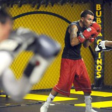 Local boxer Sierra ready for his first professional fight next month