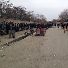 Frustrated Afghans Defy Taliban Violence but Wait Days on End to Register to Vote