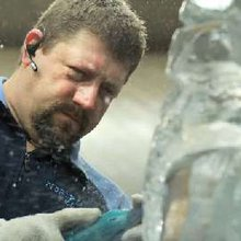 Warm Weather Ice Carver