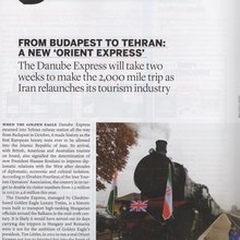From Budapest to Tehran: A New Orient Express