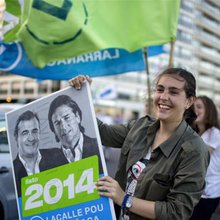 Old versus the new in tight Uruguay election