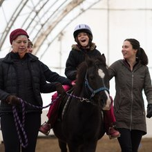 Horses can help kids with special needs