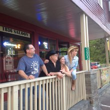 Landmark bar finally re-opens with brisk business