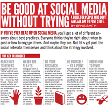 Be Good At Social Media Without Trying