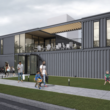 Shipping container restaurant collective, beer garden breaks ground this week in Cass Corridor