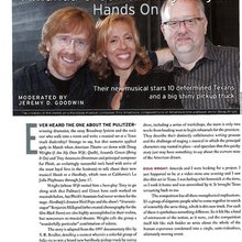 Trey Anastasio, Doug Wright and Amanda Green: Hands On - American Theatre