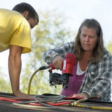 Small army of volunteers helps Hobart, Lake Station homeowners