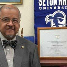Activist, gangster, educator: Dr. Pritchett a Seton Hall 'jewel'