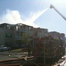 Fire destroys Anderson apartment building