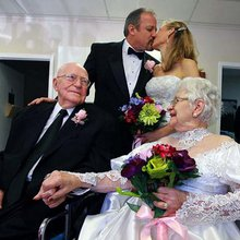 After 71 happy years, 96-year-olds renew vows