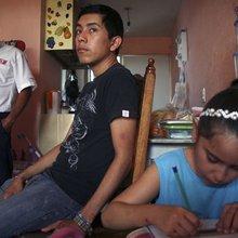 Mexico drug war refugees escape to more bloodshed
