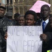 Community protesters call for no intervention in South Sudan