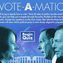 Vote-a-Matic Quiz: Federal Election 2010 Policy Quiz
