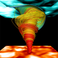 Magnetic tornadoes may superheat the Sun's outer atmosphere | COSMOS magazine
