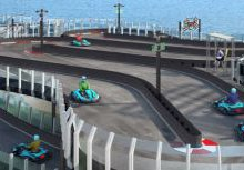 Race tracks, snow grottos and virtual rollercoasters - amazing features on new cruise ships for 2...