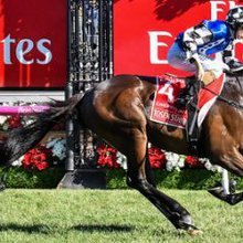 Melbourne Cup voice Miles enjoys day off
