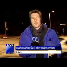 Reporter Fail: Turning water into snow
