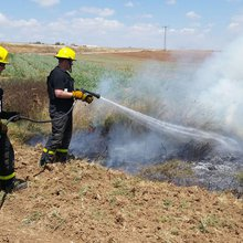 Local firefighters risk their lives in Israel