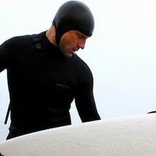 Amputee Jeff Denholm is an extreme example in big-wave surfing