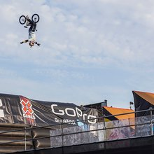 K-Rob Celebrates the 20th Anniversary of the X Games With a Record Breaking Stunt