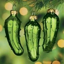 The legend of the Christmas Pickle
