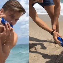 Shotgun shark kid apologizes and says 'I love animals' after revealing the fish was ALIVE for vid...