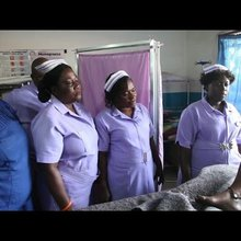 Rural midwives on front line of Sierra Leone maternity crisis