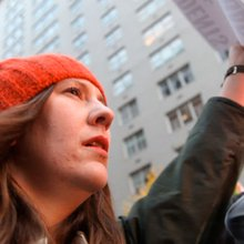 "Sights and Sounds from Occupy Wall Street's ""Action Day"""