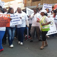 Emergency 10111 workers threaten to strike over salaries, with Vavi federation's backing