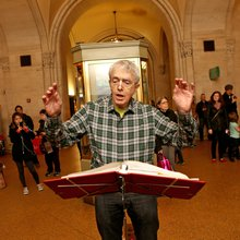 The Renaissance Street Singers Perform Sacred Songs in Secular Spots