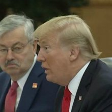 In China, former Iowa Gov. Branstad plays crucial role in bilateral meeting