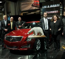 "CAJ presents Best of the Best Award to ATS at Montreal auto show "" thecanadianautomotivejury.ca"
