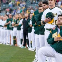 Oakland A's Player Starts First MLB Kneel Protest