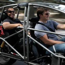 """Nathan Fillion Gets His Spaceship, As Arcimoto's Revolutionary, Electric """"Fun Utility Vehicle"""" Wr..."""