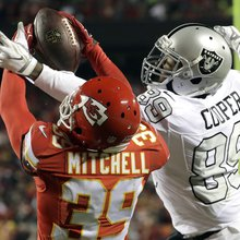 NFL Thursday Night Football: Chiefs to visit Raiders in dry, seasonal conditions